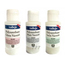Vallejo Polyurethane Varnishes 60 ml