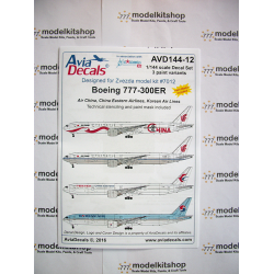 Avia Decals - Boeing 777-300ER East Asia carriers