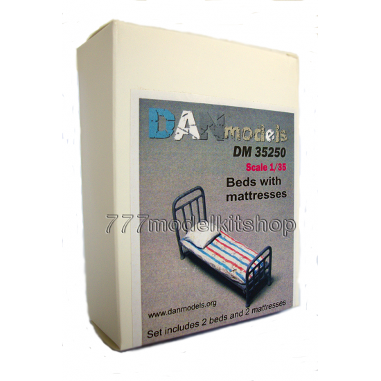 DANmodels Beds with mattresses