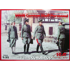 ICM - WWII German Staff Personnel