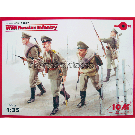 ICM - WWI Russian Infantry
