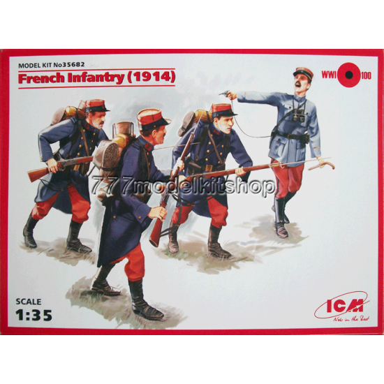 ICM - French Infantry (1914)