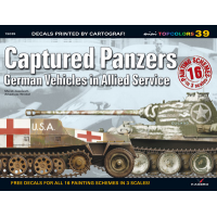 Kagero Captured Panzers German Vehicles in Allied Service