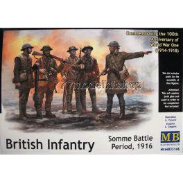 MB - British Infantry, Somme battle, 1916