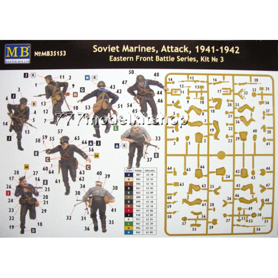 MB - Soviet Marines, Attack, 1941-1942