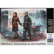MB - Volkssturm. Ammunition to the Frontline