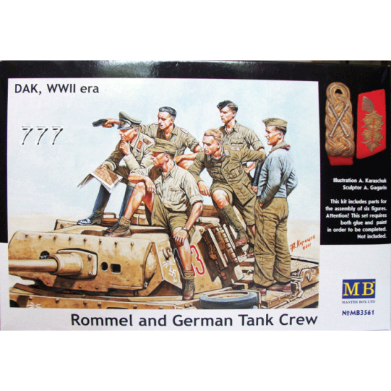MB - Rommel and German Tank Crew