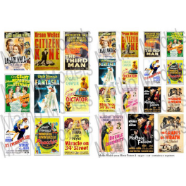 Matho Models Movie Posters A - 1940's