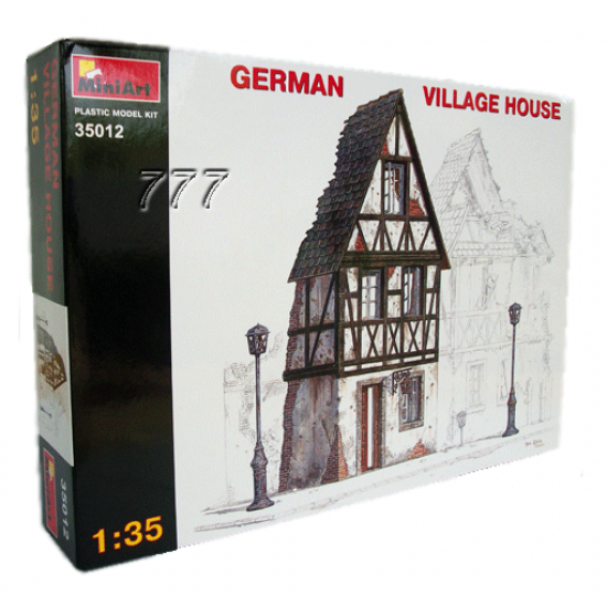 MiniArt German Village House