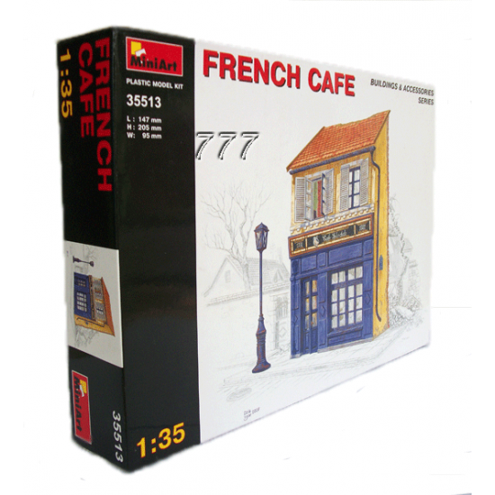 MiniArt French Cafe