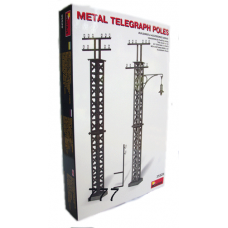 MiniArt Metal Telegraph Poles