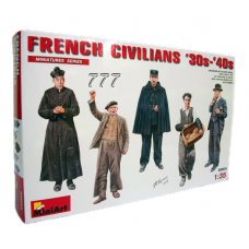 MiniArt French Civilians '30s-'40s