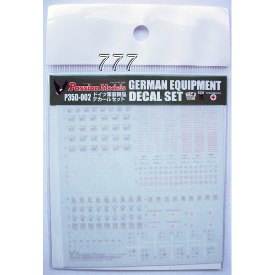 PM German Army Equipment Decals Vol.1