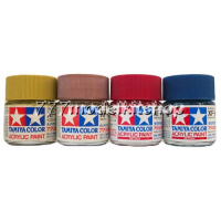 Tamiya Acrylic Paints (Flat) 23 ml